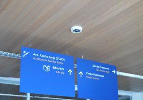 Infra-estrutura de CCTV na Fac. de Arquitetura da UTL